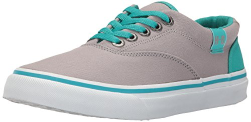 Harley-Davidson Womens Layton Fashion Sneaker Grey/Teal