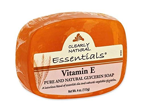Clearly Natural Vitamin E Bar Soap - 4 oz
