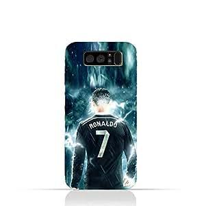 Samsung Galaxy Note 8 TPU Silicone Protective Case with Ronaldo Design