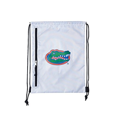 NCAA Florida Gators Backsack, White, One Size