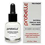 Probelle Natural Fungal Nail Treatment, Anti Fungal Nail Treatment, Nail Color Restoration, Clear.5 oz/ 15 ml (Patented Formula)
