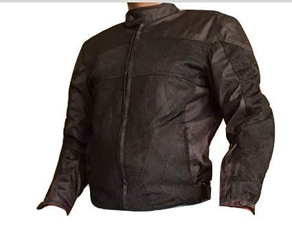 Motorcycle New Black Mesh Race Jacket L-2XL XL