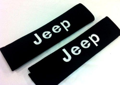 KAFEEK Jeep Seat Belt Cover Shoulder Pad Cushion (2 pcs)