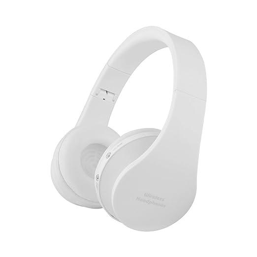 25 opinioni per Ueleknight Cuffie auricolari per cuffie auricolari con Bluetooth, cancellazione