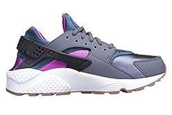 Nike Womens Wmns Air Huarache Run, Dark Greyteal, 6.5 Us