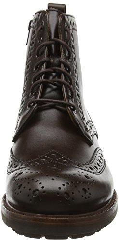 Sioux Outsider-001, Zapatillas de Estar por Casa para Hombre Marrón - marrón oscuro