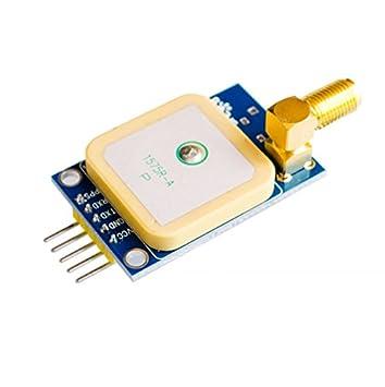 Wangdd22 GPS Module NEO-6M U-BLOX Satellite Positioning 51 Single