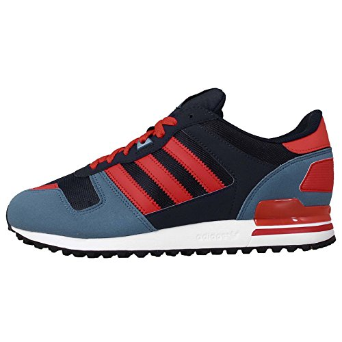 Adidas Men's ZX 700 , NAVY/RED/STSTOW, 10.5 M US