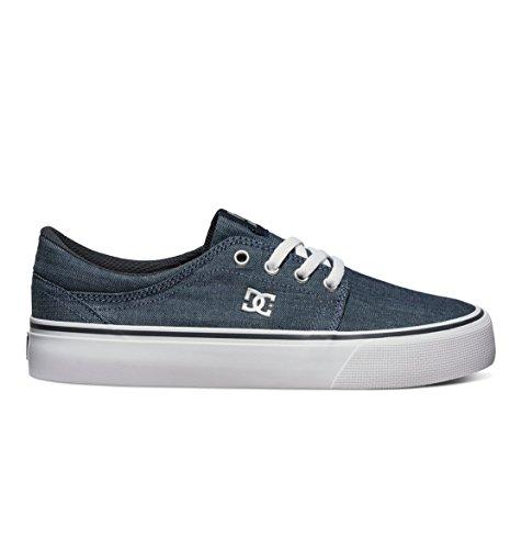 DC Shoes Trase TX SE - Zapatillas bajas para mujer Noir - Dark Denim/White