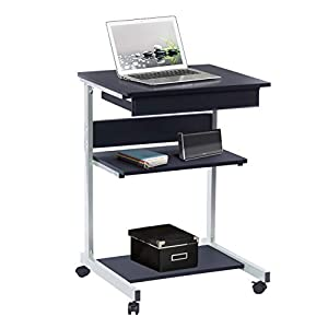 Techni Mobili RTA-B018 Rolling Laptop Desk with Storage