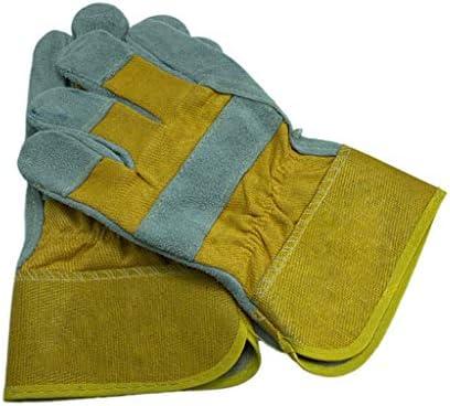 ガントレット作業用手袋を溶接する高品質の牛革レザー溶接機