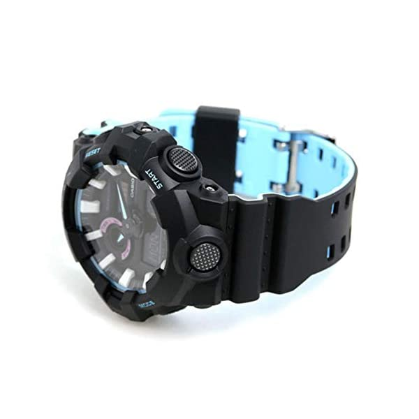 Casio Reloj Analogico-Digital para Mujer de Cuarzo con Correa en Resina GA-700PC-1AER 6