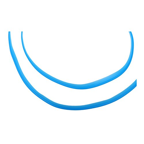 TOOGOO 5M Universal Car Styling Flexible Interior Internal Decoration Moulding Trim Decorative Strips Line DIY Stickers Car-Styling Blue by TOOGOO (Image #3)