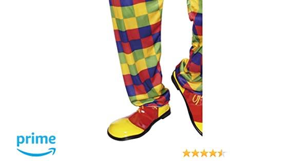 Smiffys Mens Clown Shoes Deluxe
