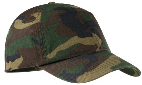 Port Authority Camouflage Cap - Military Camo C851 OS