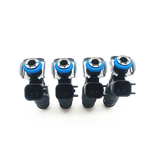KNOSSOS 4pcs Auto Car Fuel Injector Parts for Buick Avenir 2.4 for Buick Regal 2.4 12582219 - nero