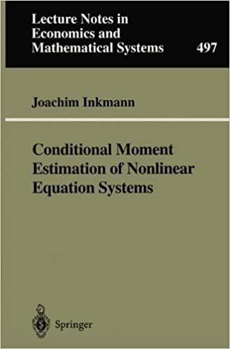 Ilmaisia kirjoja pdf download ebook Conditional Moment Estimation of Nonlinear Equation Systems: With an Application to an Oligopoly Model of Cooperative R&D (Lecture Notes in Economics and Mathematical Systems) PDF ePub MOBI