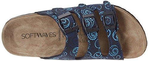 Softwaves 274 138 - Mules Mujer Blau (NAVY MULTI)