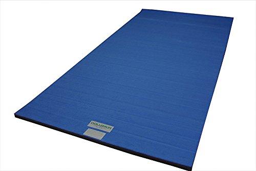 Dollamur 5'x10'x1-3/8 Flexi-Roll Carpeted Cheer/Gymnastics Mat