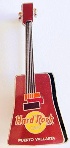 Puerto Vallarta Hard Rock Café 1999 BB KING Plum Box Guitar ()