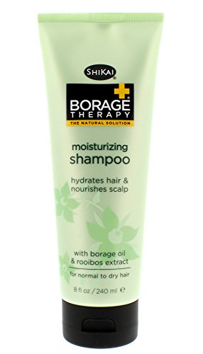 Borage Therapy Moisturizing Shampoo, Shikai Products, 8 oz