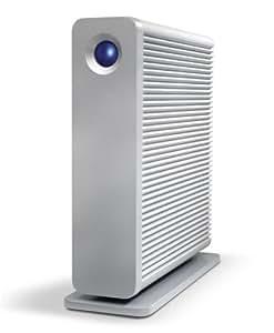LaCie 9000269 - Disco duro conectado en red de 3 TB (eSATA, Gigabit Ethernet, USB 2.0), plata