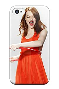 New Style New Cute Funny Emma Stone 2012 Case Cover/ Iphone 4/4s Case Cover 7574067K26702637