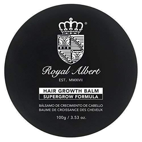 Royal Albert - Bálsamo de Crecimiento de Cabello SuperGrow - 100g - Libre de Sulfatos, Parabenos y Alcohol - Auxiliar en el...