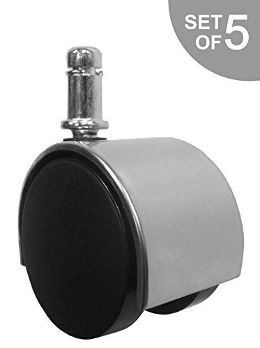 Chrome Standard Replacement Office Caster product image