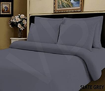 Super King Bed Size by Aubergine Purple Viceroybedding 400 Thread Count 100/% Egyptian Cotton 12 deep Fitted Sheet