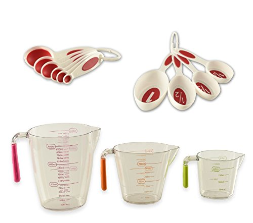 Plastic Measuring Carafes Kitchen Maestro