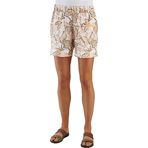 Merrell Women's Biolush Shorts, Peach Nectar Print, Small by Merrell