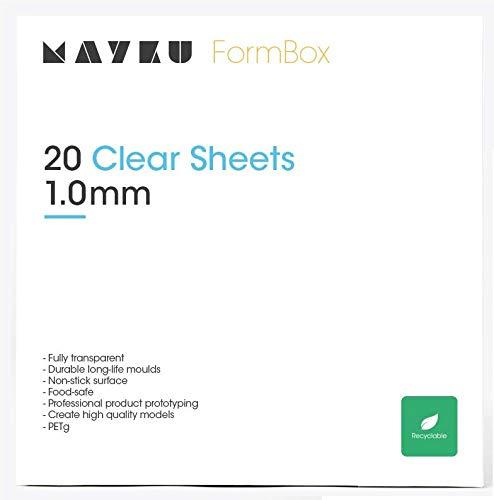 de escritorio que le da vida a tus ideas. paquete de 30 Mayku L/áminas para molde para la Mayku FormBox: Una formadora de vac/ío