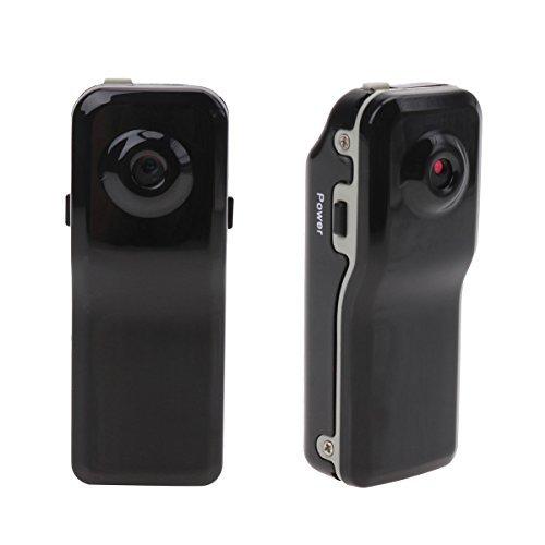 iiniim Mini DV Videocámara DVR MD80 Cámara de Vídeo Espía Cámara Oculta Cam Botón Cámara Video Audio Grabador de Seguridad con Batería: Amazon.es: Ropa y ...