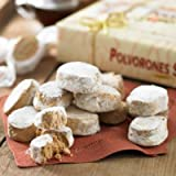 La Estepena Polvorones Selectos - Almond Cookies (1 box, 17.6 ounces - 20 individually wrapped pieces)