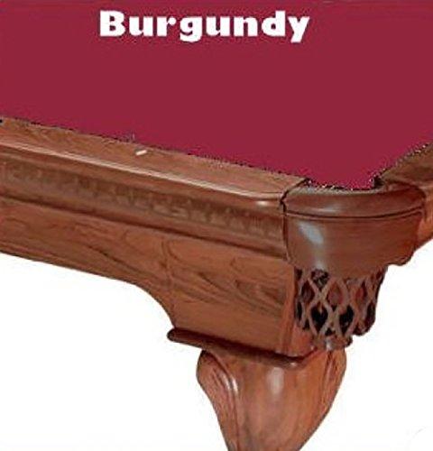 8' Burgundy ProLine Classic 303 Billiard Pool Table Cloth (Pro Line Felt)