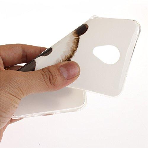 Fit Silicone Bord panda Résistant Meizu TPU Transparent Téléphone Protection Peint Antichoc Note Arrière Cas Meilan Slim En De Hozor Motif De Scratch Souple 5 Couverture Cas 6AqfAwv