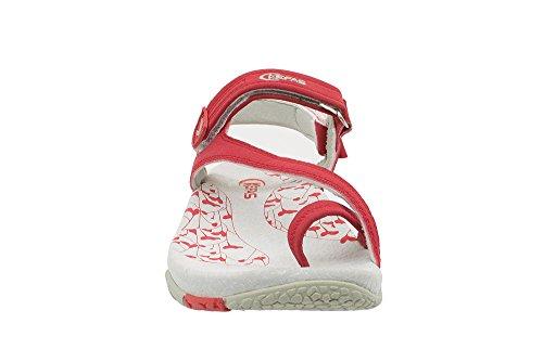 Rot Damen Damen Sandalen Sandalen Kefas Kefas Kefas Sandalen Damen Rot zfAwP75Fqw
