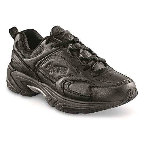 Guide Gear Men's Lace-Up Walking Shoes, Black/Charcoal, 8D (Medium) ()