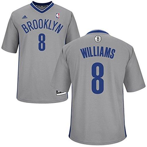 Deron Williams #8 Brooklyn Nets Gray Kids 4-7 NBA Adidas Alternate Replica Jersey (Kids (Deron Williams Replica Jersey)