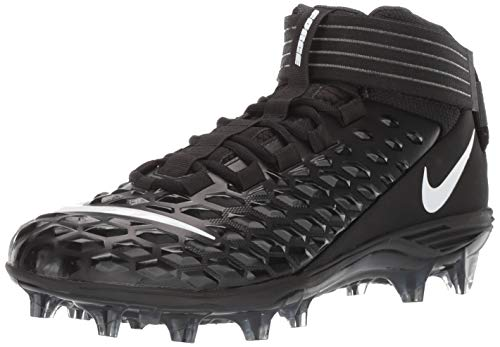 Nike Men's Force Savage Pro 2 Football Cleat Black/White/Anthracite Size 13 M US
