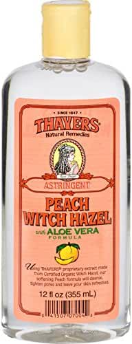 Thayer's Peach Witch Hazel Astringent with Aloe Vera