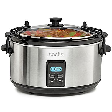 Cooks Latch and Travel Slow Cooker 5 Quart