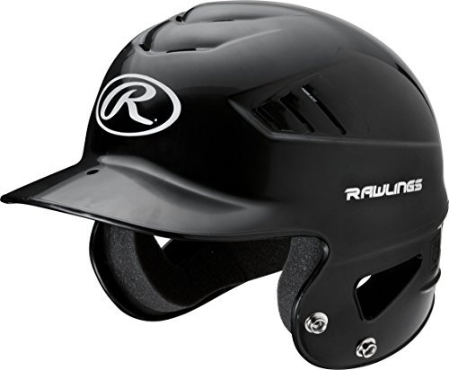 Rawlings RCFTB  Coolflo NOCSAE T-Ball Molded Helmet, Black, 6 1/4 - 6 - Helmet Baseball