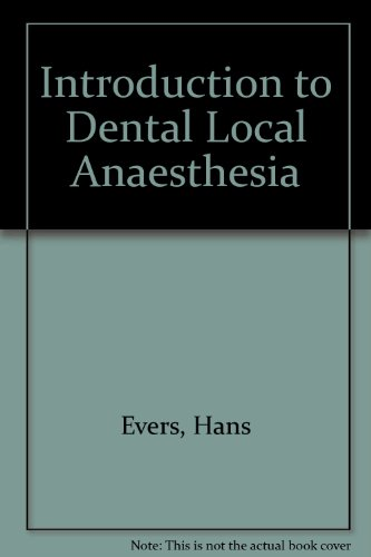Introduction to Dental Local Anaesthesia