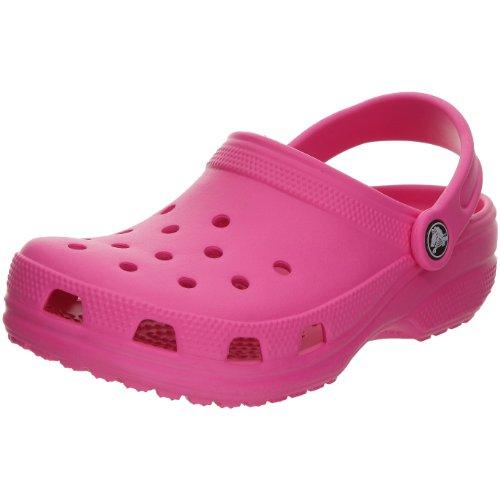 (Crocs Kids Cayman Sandals - Fuchsia, US)