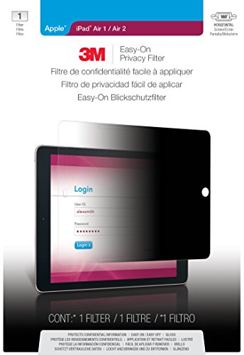 3M Easy-On Privacy Filter for Apple iPad Air 1