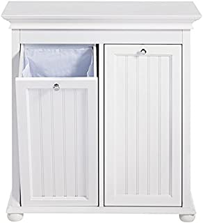 Amazon.com: Household Essentials Tilt-Out Laundry Sorter Cabinet ...