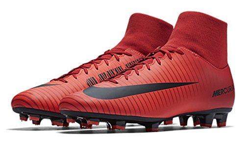 Nike Herren Mercurial Overwinning Vi Df Fg Fußballschuhe Universiteit Rood / Zwart