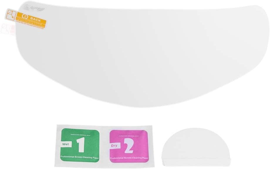 Keenso - Protector de lente impermeable para casco de motocicleta, antivaho